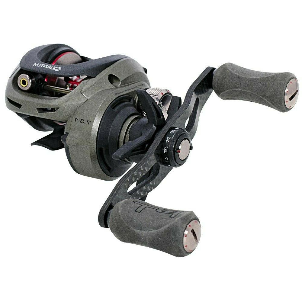 QUANTUM PT RIGHT T100HPT LOW PROFILE BAITCAST REEL NEW!