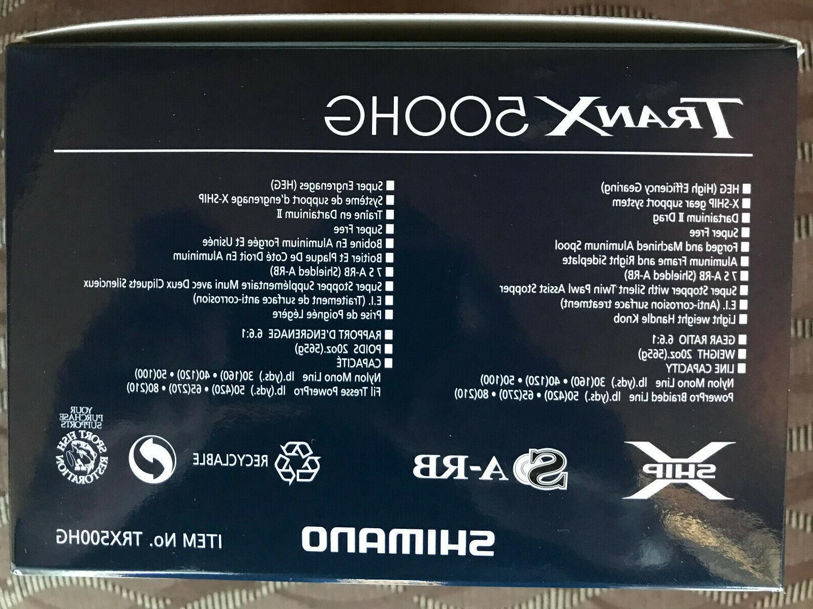 Shimano 500 Saltwater Baitcast **FREE SHIPPING**