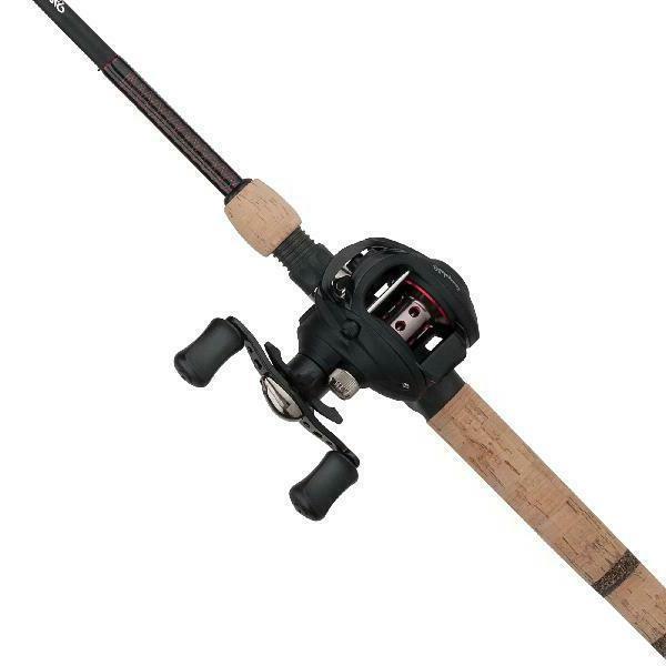 ugly stik elite baitcast reel and fishing