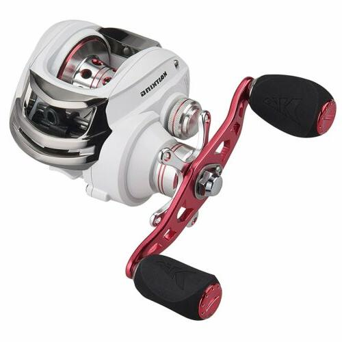 whitemax baitcasting fishing reel perfect low profile