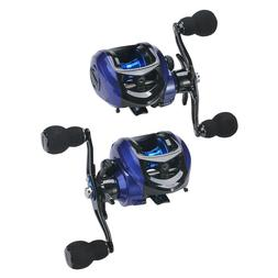 Left/Right Hand Baitcast Fishing Reel 17+1 High Speed Gear R