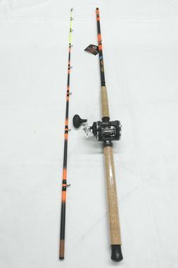 Monster Catfish Casting  Combo 9' 2PC /3 BB Bait Cast Reel