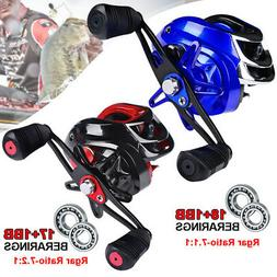 New Fishing Reel Saltwater Freshwater Mini Portable Spinning