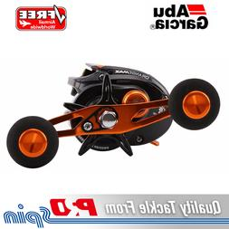 Abu Garcia Orange Max Baitcaster Reel - Power-knob Handle An