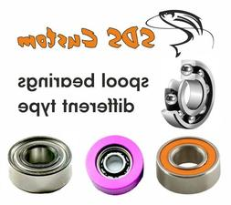 FOR PISCIFUN BAITCASTING REELS SPOOL BEARINGS DIFFERENT TYPE