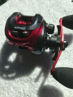 pulse low profile right handed baitcast reel