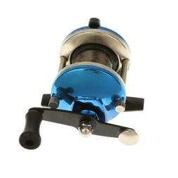 Right Hand Round Metal Baitcasting Fishing Reel Ice Fishing