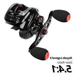 KastKing Royale Legend II 5.4:1 Baitcasting Fishing Reel 7.2