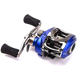 Entsport Saltwater Casting Reel Low Profile Baitcasting Fish