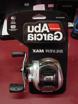 Abu Garcia SMAX3-C Silver Max Low Profile Baitcast Fishing R