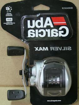 Abu Garcia SMAX3 Silver Max Low Profile Baitcast Fishing Ree