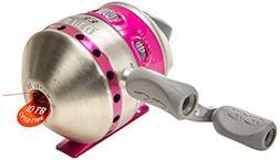 Zebco 33 Women's Spincast Reel, Silver