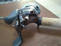 Browning Stalker Gold 1 pc rod &  Super Caster reel-new bait