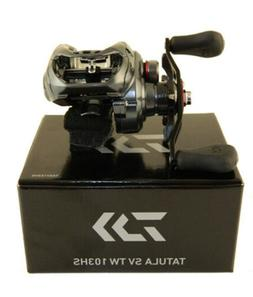 DAIWA TATULA SV TW 103HS 7.3:1 RIGHT HAND BAITCAST REEL