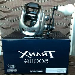 Shimano Tranx 500 HG Saltwater Baitcast Fishing Reel **FREE