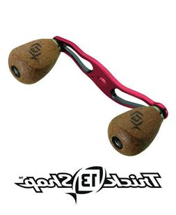 13 Fishing Trick Shop Red/Black Handle With Cork Knobs For C