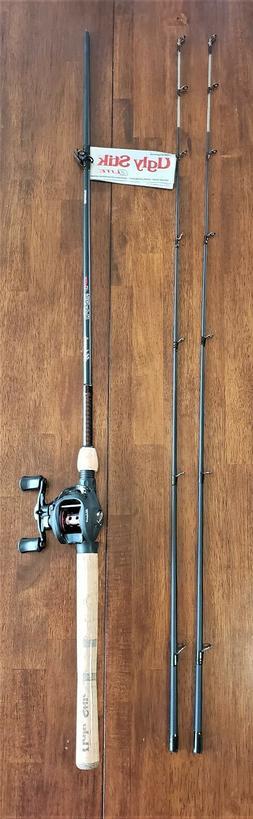 """Shakespeare Ugly Stik Elite Baitcast Combo 6.6"""" fishing Rod"""
