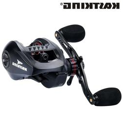Ultra Smooth Fishing Coil, High Speed Baitcasting Reel 6kg M